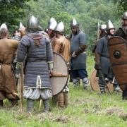 """Senųjų amatų, archajinės muzikos ir karybos festivalis """"Apuolė"""""""