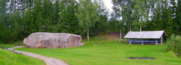 The biggest stone in Lithuania, other ice age relics